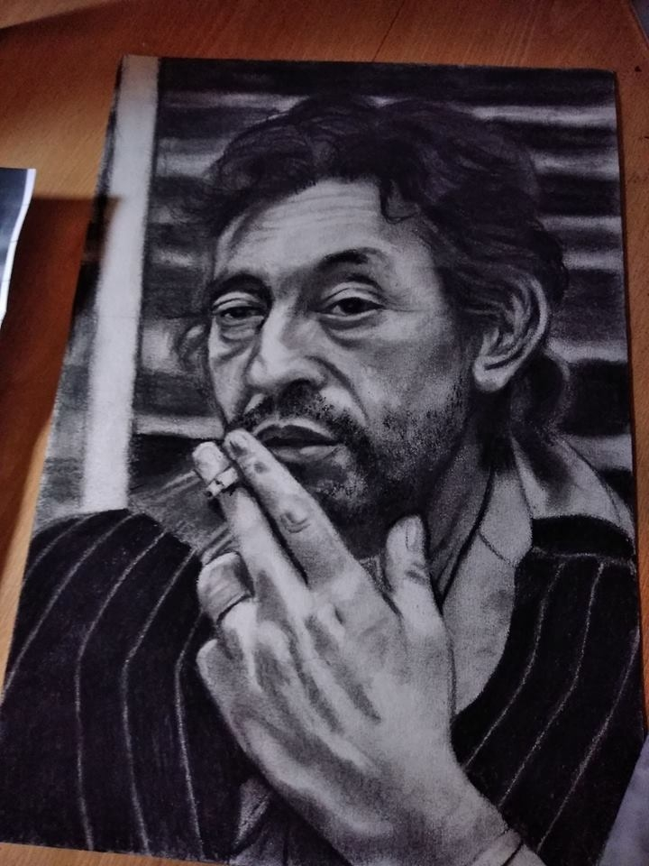 Serge Gainsbourg by KituC